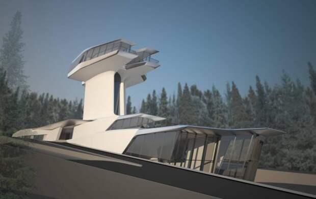 В Москве недорого продают бизнес-центр, построенный по проекту Захи Хадид