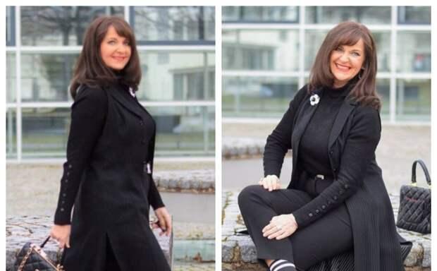 Весенние стильные образы для женщин 50+.