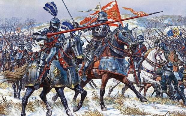 2 марта 1476 года состоялась битва при Грансоне - одно из сражений Бургундских войн.