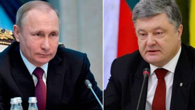 Отказ президента России говорить с Порошенко: Путин дает украинцам взглянуть на последствия работы Киева