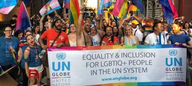 Россия на переднем крае обороны от ЛГБТ