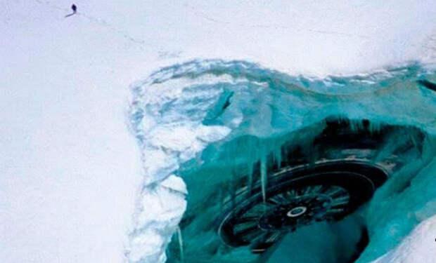 12 загадочных вещей найденых во льдах Антарктиды