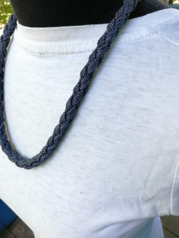 Украшения из джинсовой ткани (трафик)