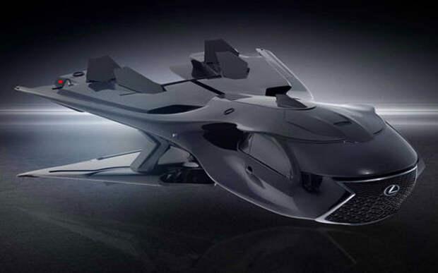 Lexus разработал космический корабль для «Людей в черном»