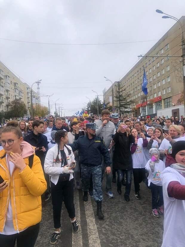 Около 10 тыс человек стали участниками Всероссийского дня ходьбы в Ижевске