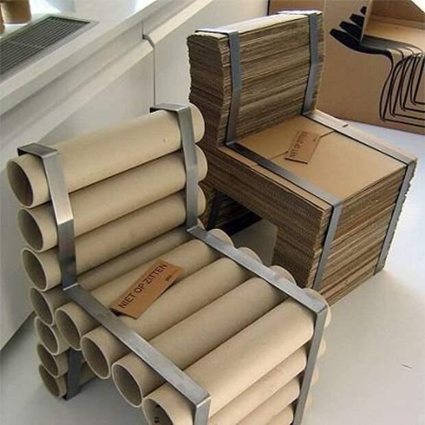 30 удивительных поделок из картонных коробок