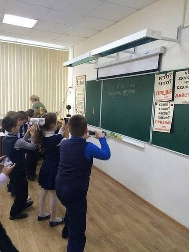 Современная школа - это уже совсем не то, что все мы помним (17 фото)