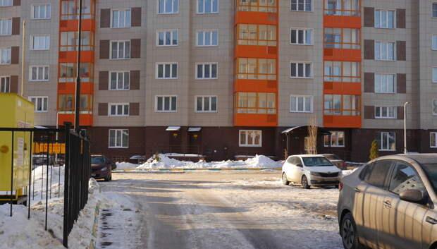 Более 180 дворов в Подмосковье очистили от снега за неделю