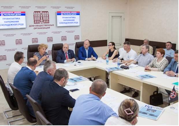 Начальник ОДН ОМВД России по Войковскому району приняла участие в круглом стол по вопросу профилактики наркомании в молодёжной среде