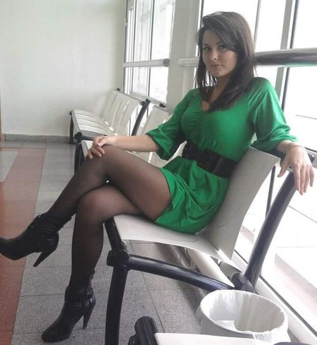 Очаровательные девушки из российских социальных сетей