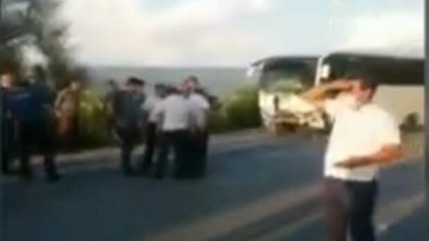 Российские туристы были в числе пассажиров разбившегося в Анталье автобуса