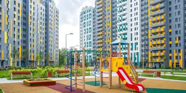 Собянин отметил темпы реализации ряда инфраструктурных проектов в ЗАО. Фото: Ю. Иванко mos.ru