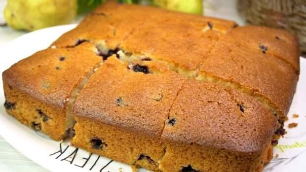 Нереально вкусный пирог «Все по одному стакану». Легко запомнить, все перемешали и в духовку