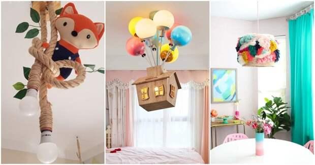 Нетривиальные и стильные варианты освещения комнаты