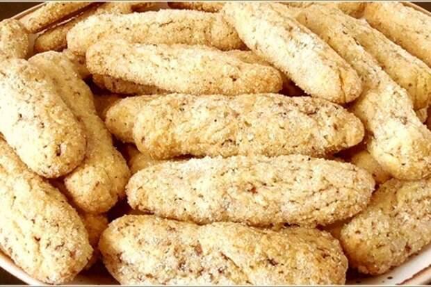 Фото к рецепту: Бюджетное итальянское печенье