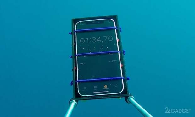 Энтузиасты испытали iPhone 12 на водонепроницаемость