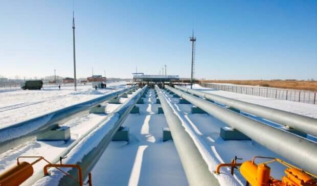 Россия экспортировала максимальный объем газа вдекабре 2020