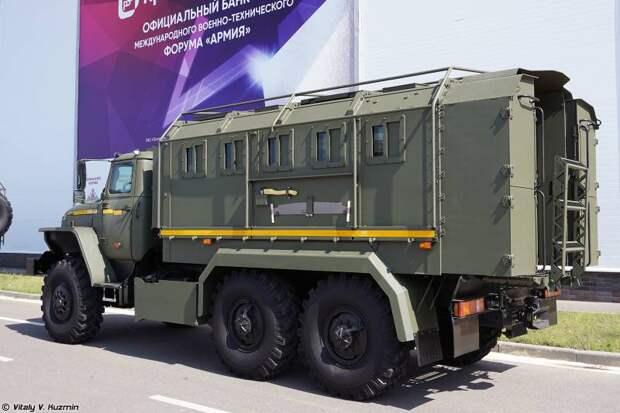 «Урал-4320»: пушки и броня
