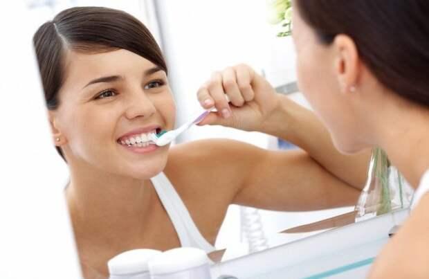 Щётка, отбеливающая зубы
