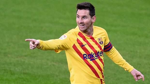 Месси признан лучшим игроком финала Кубка Испании