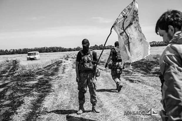 При атаке на штаб, ВСУ потеряли семь человек, и пять грузовиков