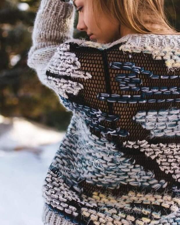 недовяз креативное вязание своими руками мода 2020
