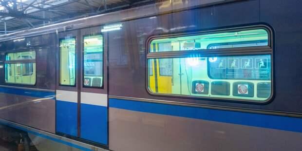На серой ветке метро поезда шли с задержкой