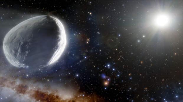 Астрономы увидели вспышку активности гигантской кометы из облака Оорта