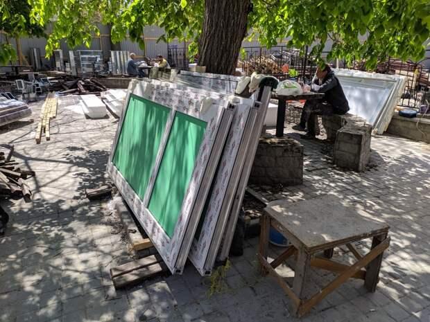 Севастопольскую «Ракушку» ремонтируют и ломают по очереди