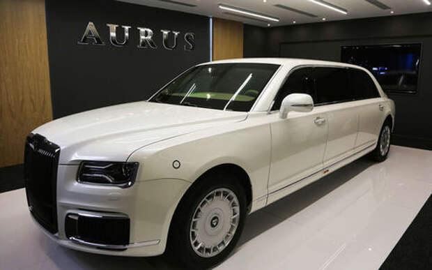 Лимузин Aurus показали в Абу-Даби