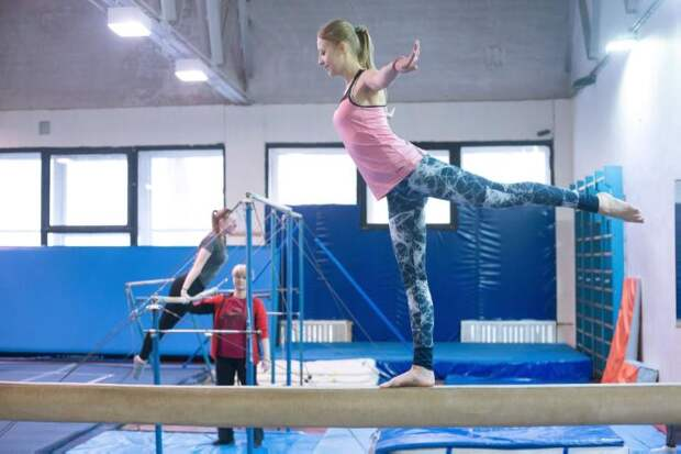 Гимнасты из университета транспорта на Образцова победили на спортивных играх