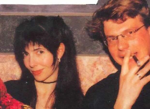 Наталья Разлогова со своим мужем Евгением Додолевым