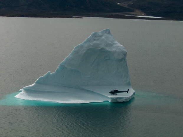 Любопытство и айсберг!