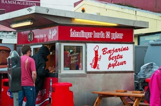 Вообще исландцы любят фастфуд еда, исландия, макдональдс, питание, почемучка, ресторан, фастфуд