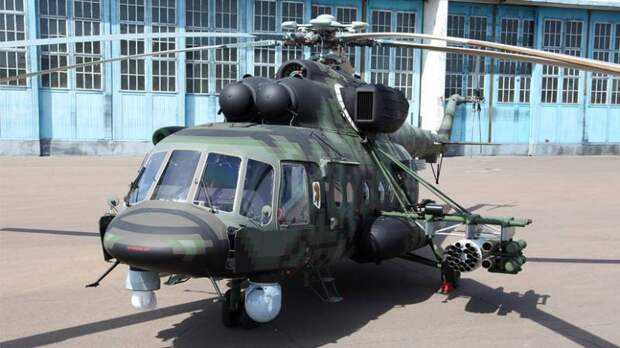«Сапсан» на базе «Терминатора». Начаты испытания вертолёта Ми-8АМТШ-ВН