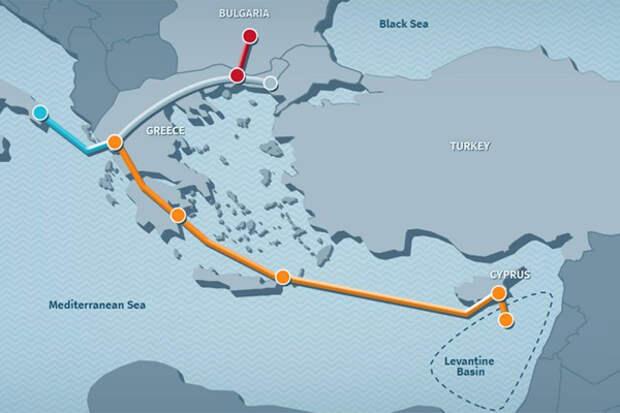 Средиземноморье становится крупным газовым хабом Европы
