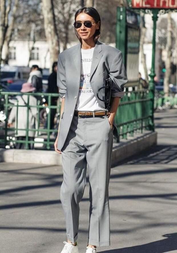 Модные брючные костюмы для женщин 2020-2021