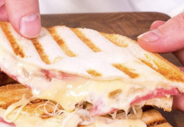 Горячий бутерброд, которого хватит надолго