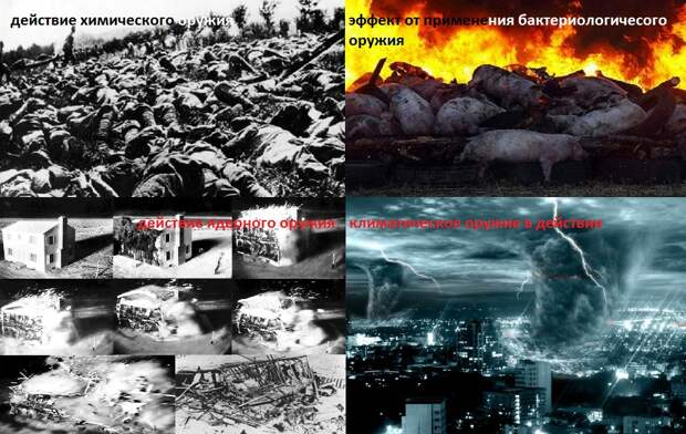 Оружие массового поражения: смертельная угроза или фактор сдерживания