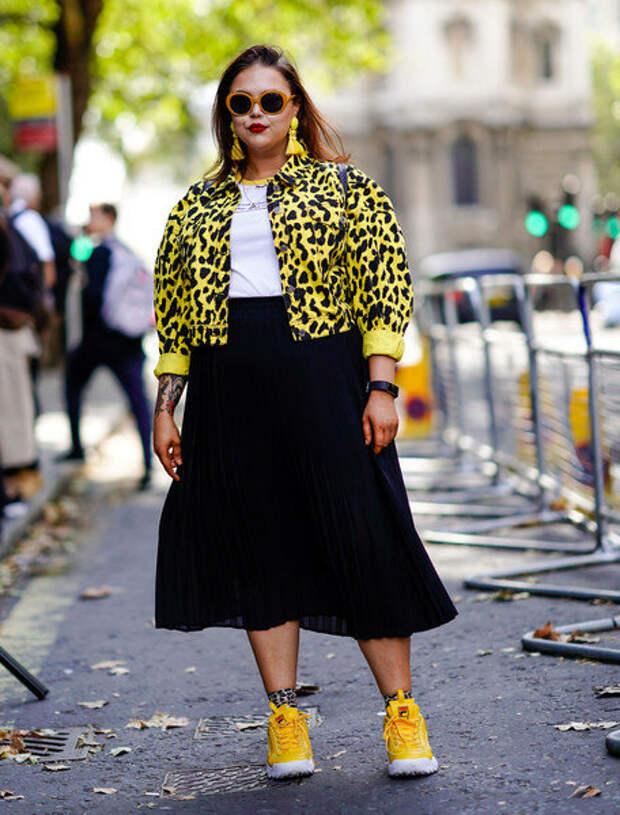 10 модных советов для женщин plus-size, чтобы выглядеть на пару размеров меньше