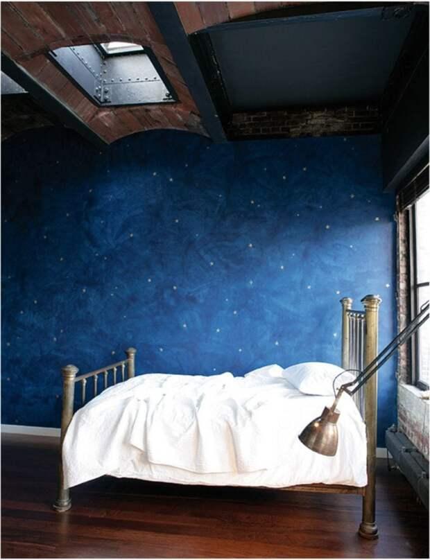 Уютные идеи декора стены для Вашей спальни