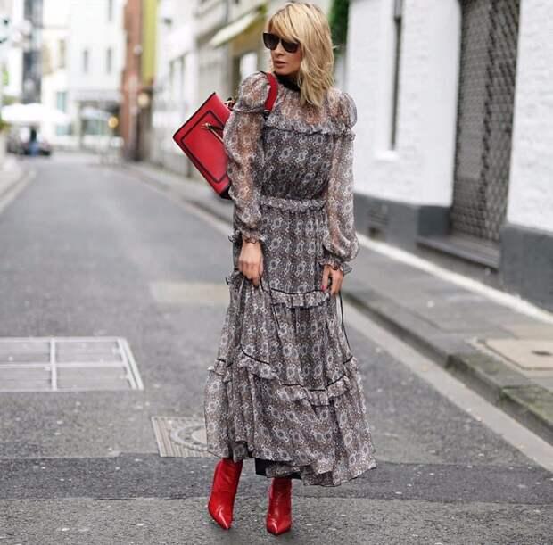 Как носить ретро-платье и не выглядеть старомодно: четыре варианта
