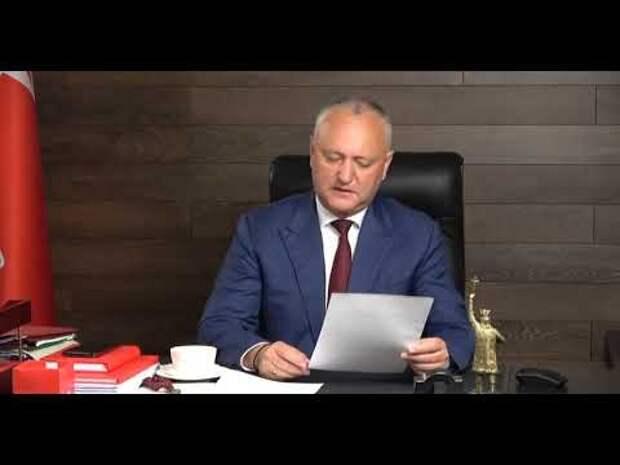 Игорь Додон о провокациях AUR: Идет тестирование на реакцию жителей левобережья (ВИДЕО)