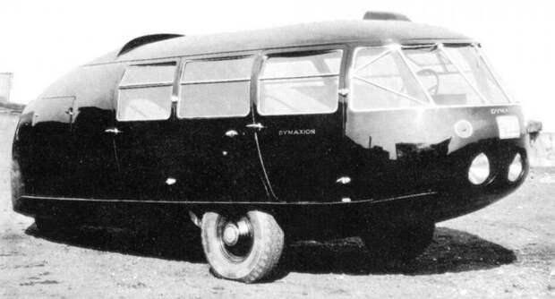 Второй модернизированный вариант «Димаксиона», сохранившийся до сих пор. 1934 год авто, автодизайн, автомобили, дизайн, интересные автомобили, минивэн, ретро авто