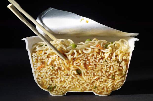 Как выглядит еда в разрезе