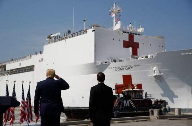 COVID-19 может пустить ко дну американский военный флот