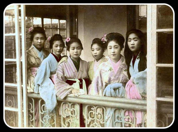 Проститутки Японии XIXвека