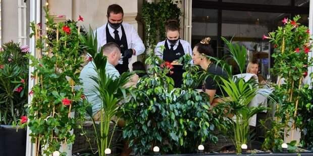 Выдача QR-кодов для посещения «бесковидных» ресторанов началась в Москве