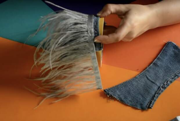 Превратите старые джинсы в невероятную обувь для дома