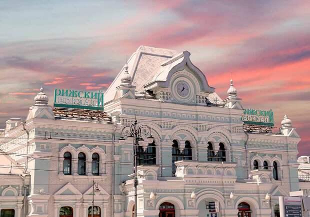 Рижскому вокзалу 120 лет. Пандемия и стройка откладывают торжества до удобного случая